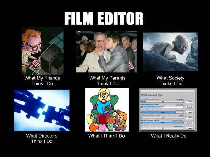 The life of a Film Editor