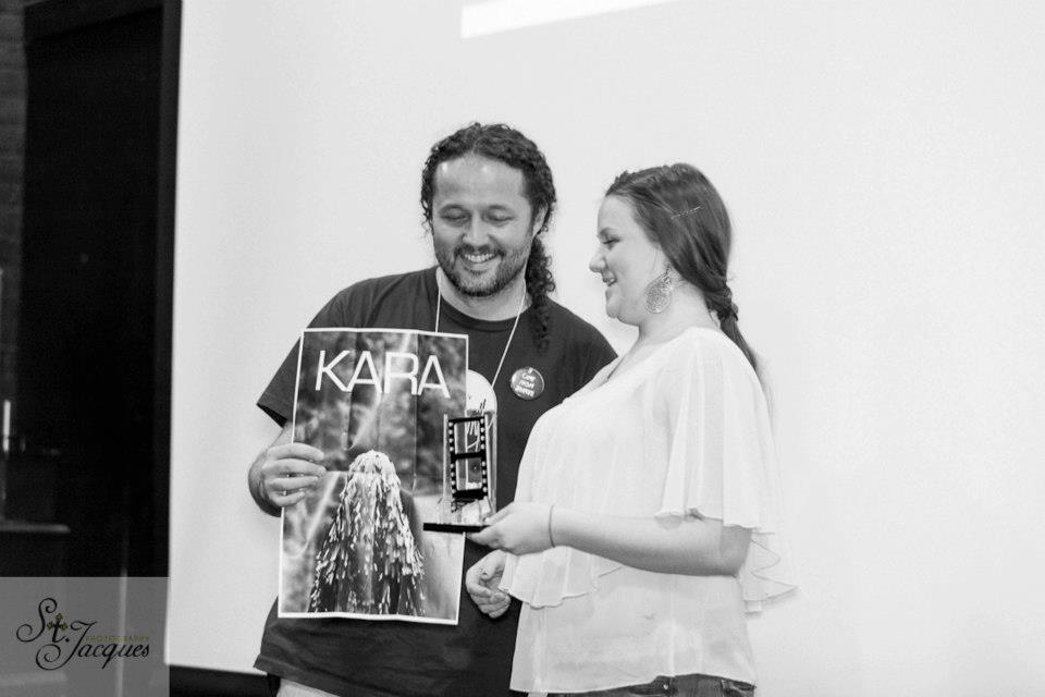 Kara wins Jury Award, Hamilton Film Festival 2012