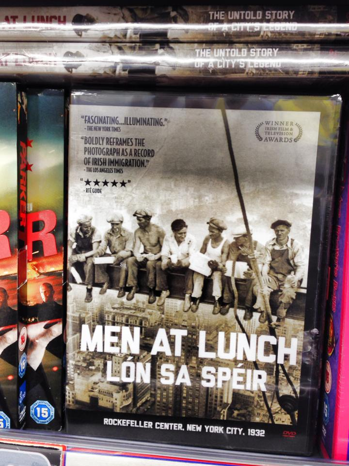 MEN AT LUNCH DVD 02