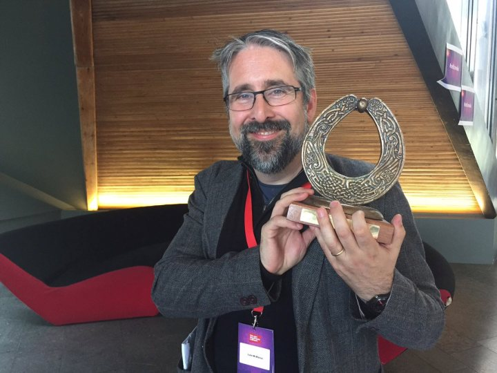 Luke with the Torc!