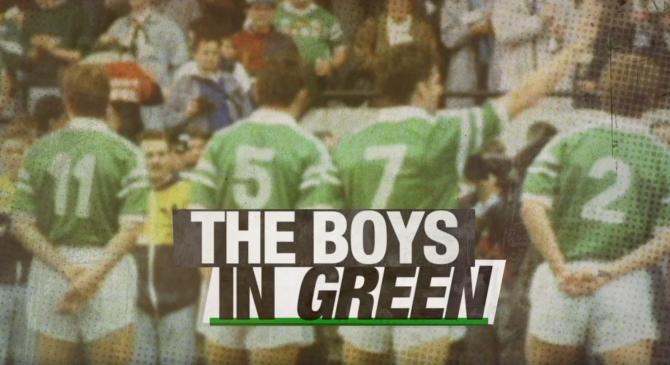 The Boys InGreen
